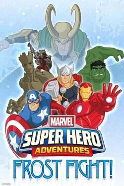 ¡Lucha de la helada de aventuras del superheroe de la maravilla!