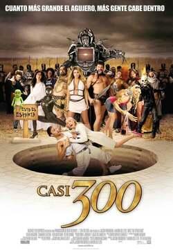 Una loca película de Esparta - Casi 300